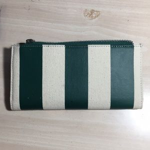 BUNDLE TO SAVE NWOT UO striped green wallet